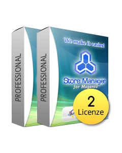 Magento Store Manager Professional 2 Licenze